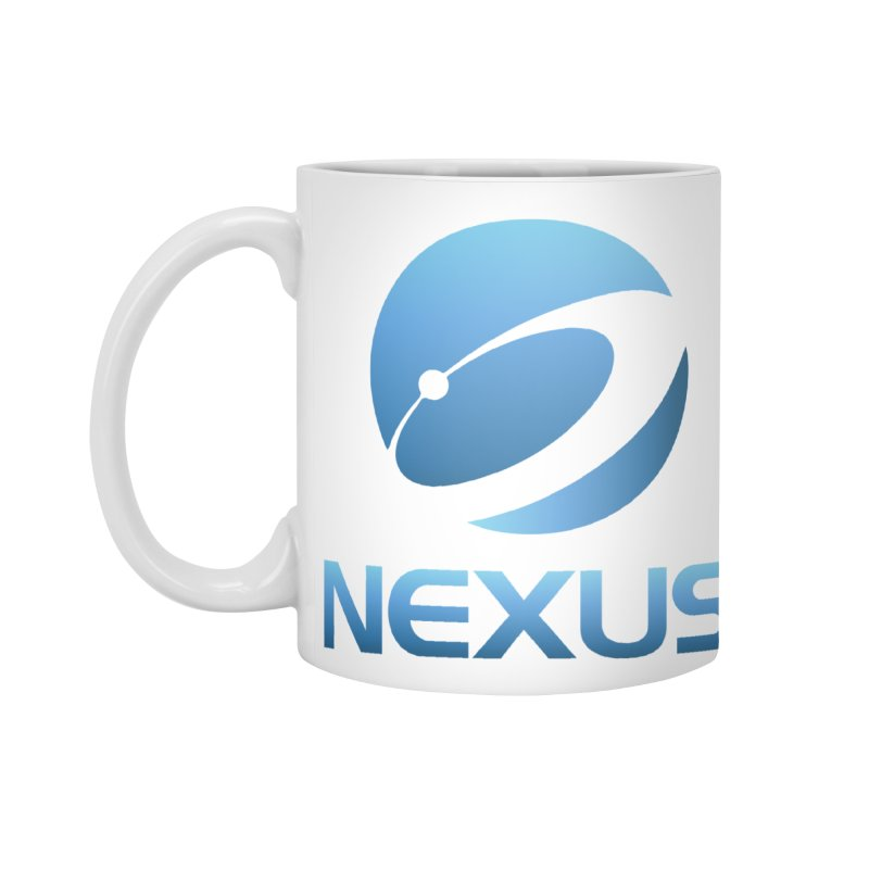 Original Nexus Logo Accessories Mug by NexusEarth's Shop