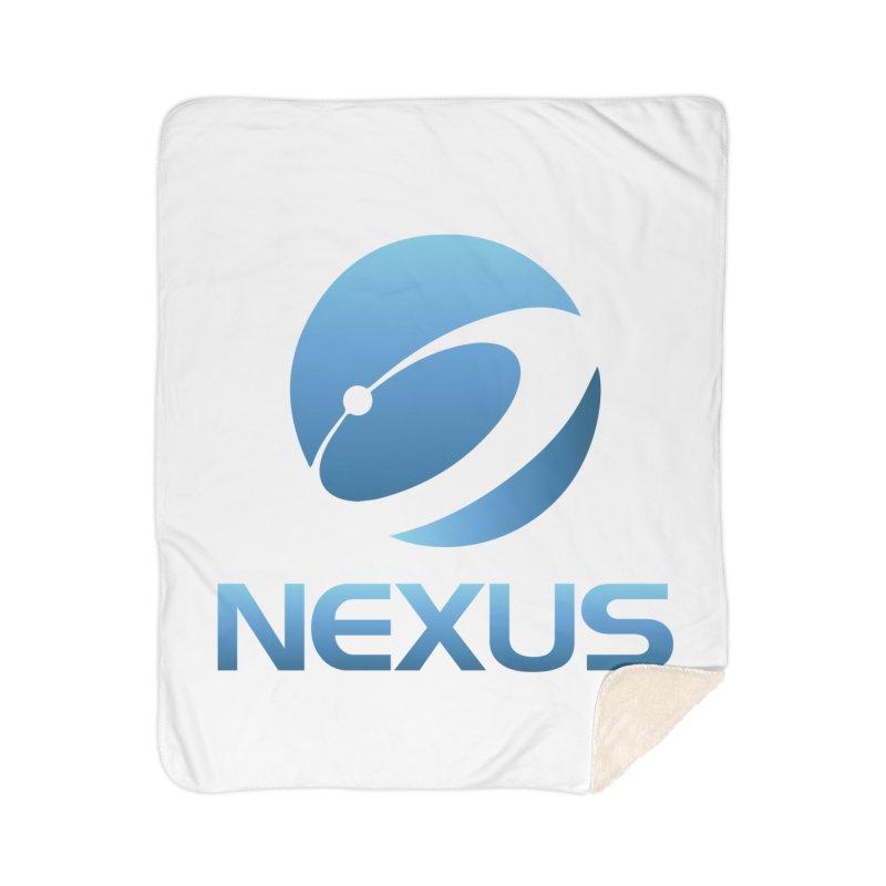Original Nexus Logo Home Sherpa Blanket Blanket by Nexus Shop