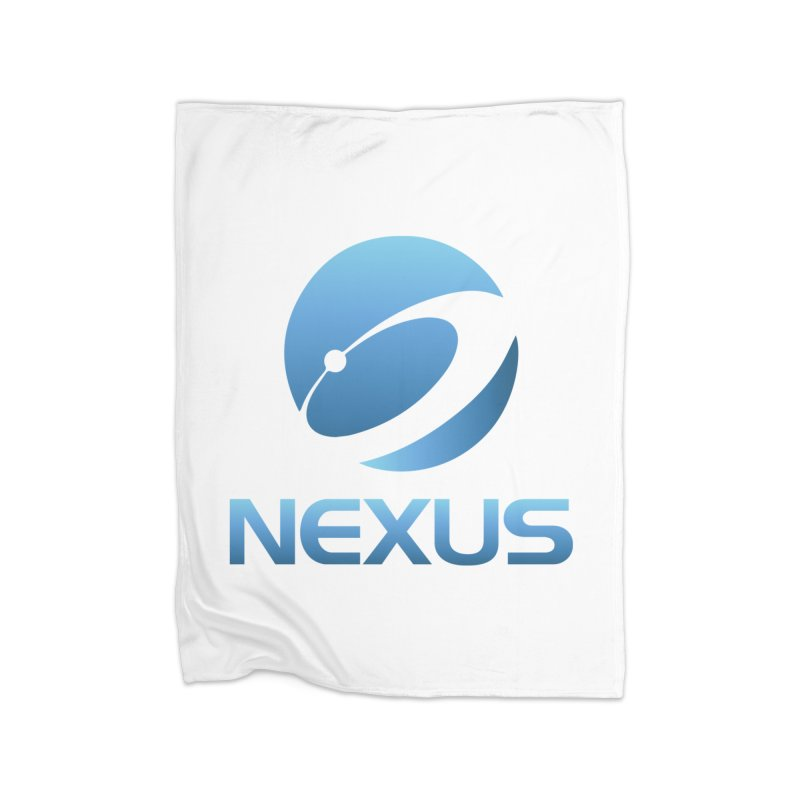 Original Nexus Logo Home Fleece Blanket Blanket by NexusEarth's Shop