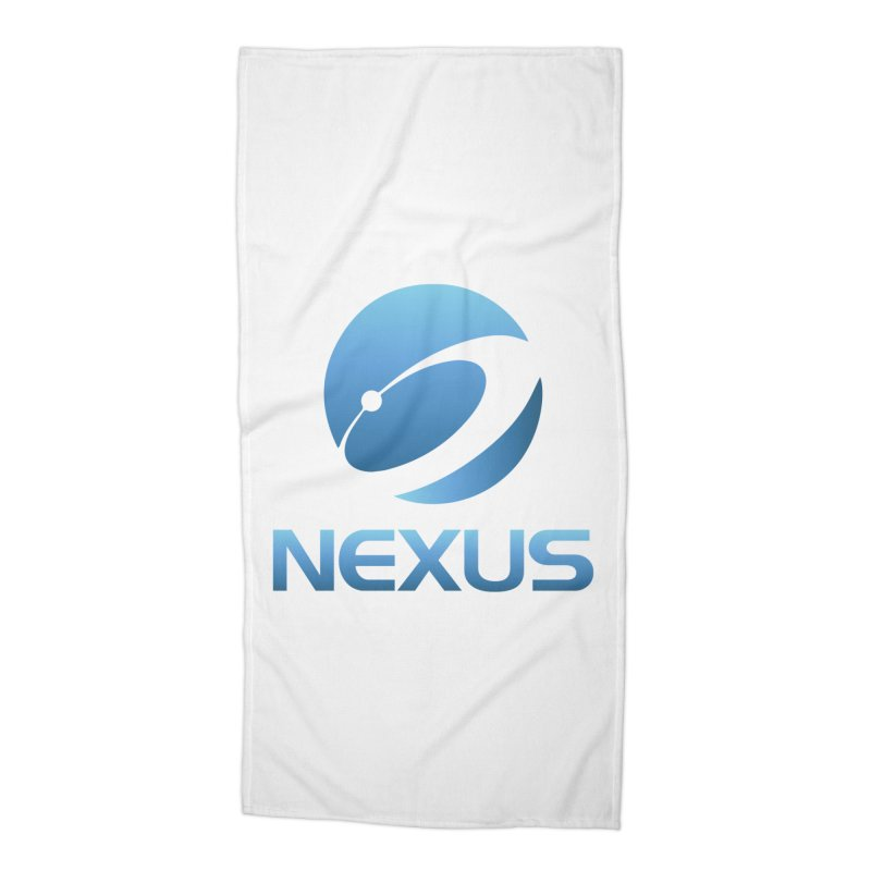 Original Nexus Logo Accessories Beach Towel by Nexus Shop
