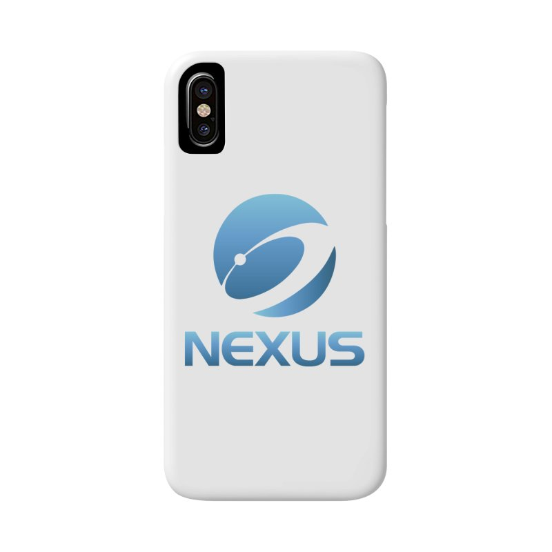 Original Nexus Logo Accessories Phone Case by NexusEarth's Shop