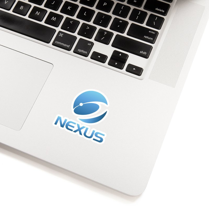 Original Nexus Logo Accessories Sticker by NexusEarth's Shop