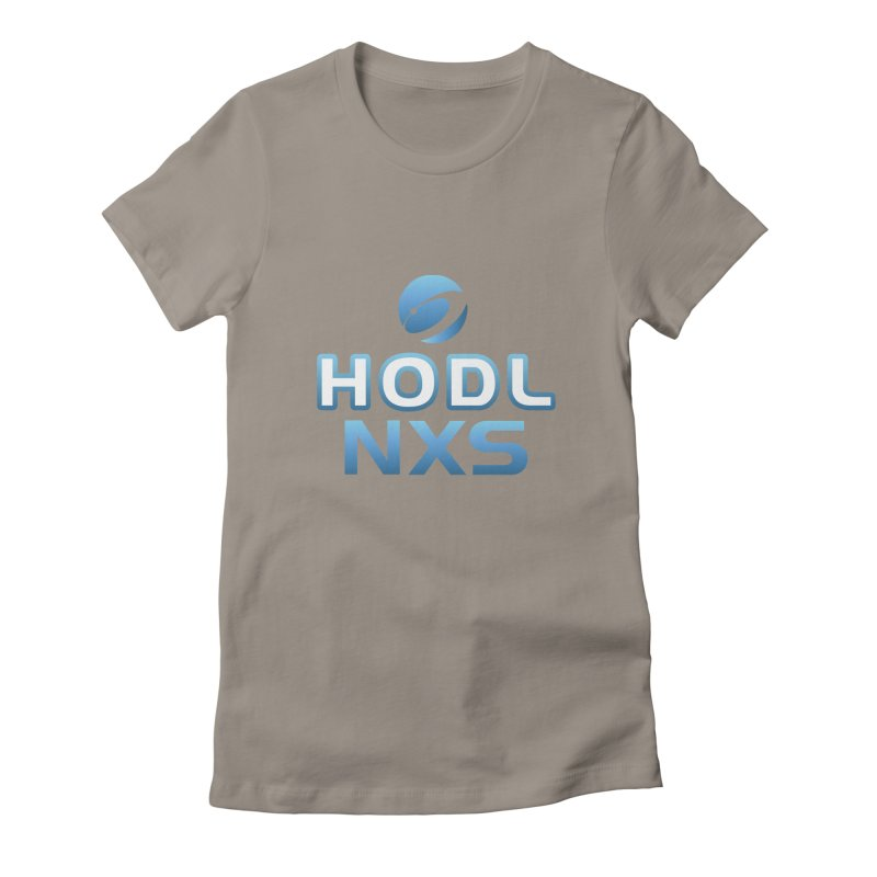 HODL NXS Women's Fitted T-Shirt by NexusEarth's Shop