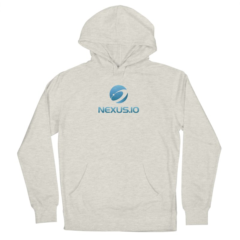 Nexus URL in Women's French Terry Pullover Hoody Heather Oatmeal by Nexus Shop