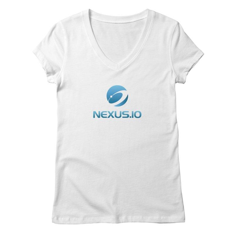 Nexus URL Women's Regular V-Neck by Nexus Shop
