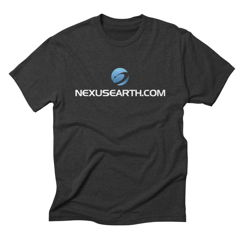 Nexus URL in Men's Triblend T-Shirt Heather Onyx by NexusEarth's Shop