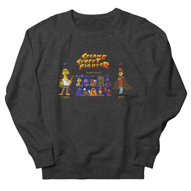 Sesame Street Fighter Women's Sweatshirt by NicholasWolf's Artist Shop