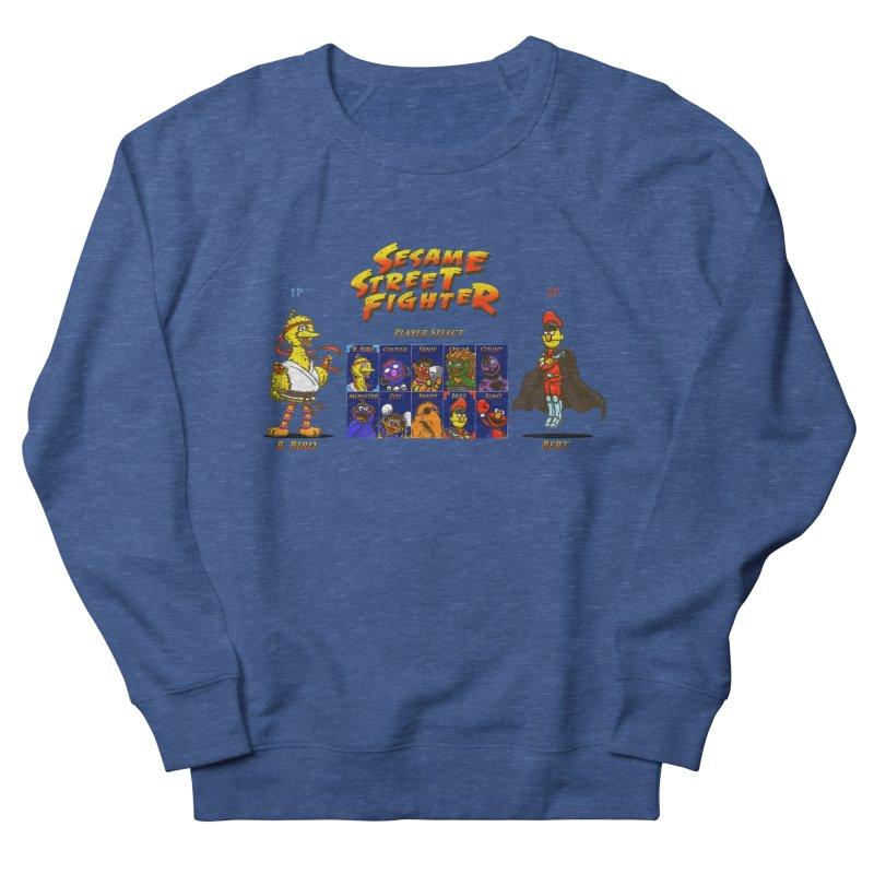 Sesame Street Fighter Men's Sweatshirt by Den of the Wolf