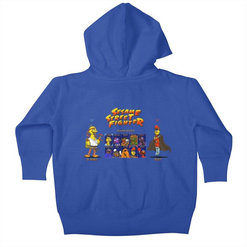 Sesame Street Fighter Kids Baby Zip-Up Hoody by Den of the Wolf