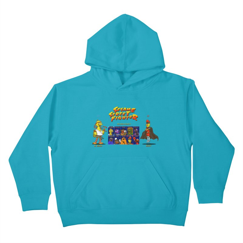 Sesame Street Fighter Kids Pullover Hoody by Den of the Wolf