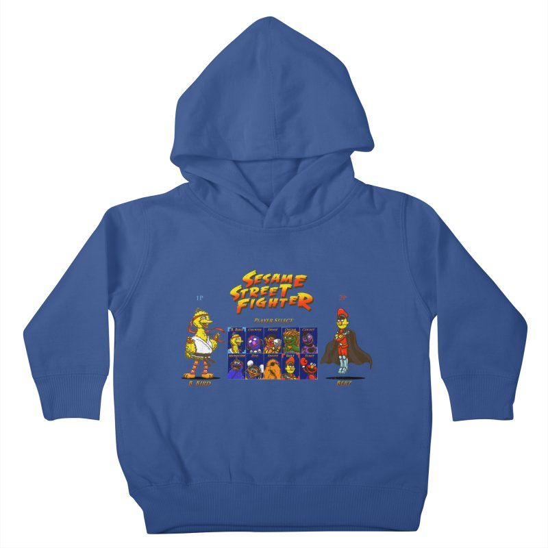 Sesame Street Fighter Kids Toddler Pullover Hoody by Den of the Wolf