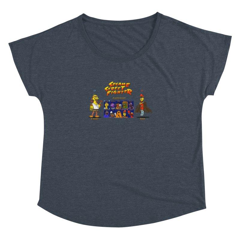 Sesame Street Fighter Women's Dolman by NicholasWolf's Artist Shop