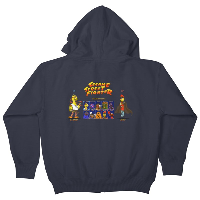 Sesame Street Fighter Kids Zip-Up Hoody by Den of the Wolf