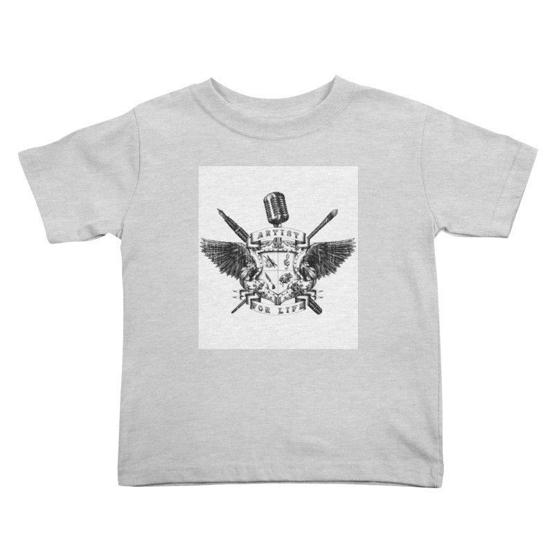 Artist for Life Kids Toddler T-Shirt by Den of the Wolf