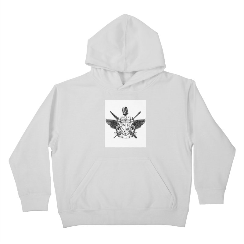 Artist for Life Kids Pullover Hoody by NicholasWolf's Artist Shop