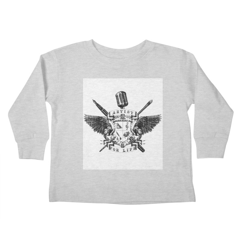 Artist for Life Kids Toddler Longsleeve T-Shirt by Den of the Wolf