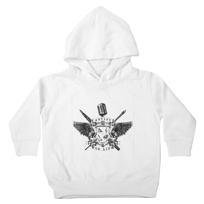 Artist for Life Kids Toddler Pullover Hoody by Den of the Wolf