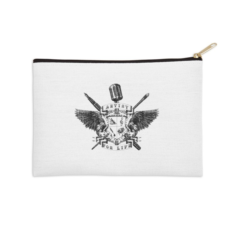 Artist for Life Accessories Zip Pouch by Den of the Wolf