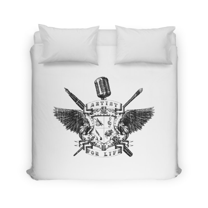 Artist for Life Home Duvet by Den of the Wolf