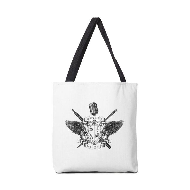 Artist for Life Accessories Bag by NicholasWolf's Artist Shop