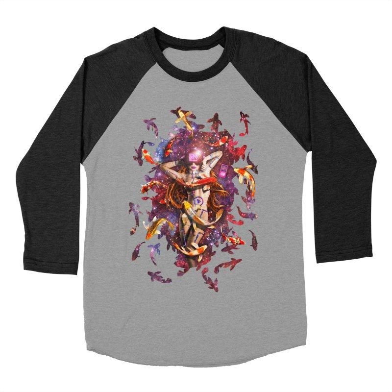 Venus 2.0 Men's Baseball Triblend Longsleeve T-Shirt by Den of the Wolf