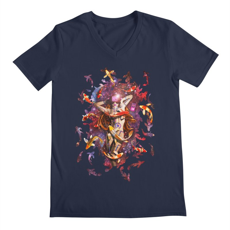 Venus 2.0 Men's V-Neck by NicholasWolf's Artist Shop