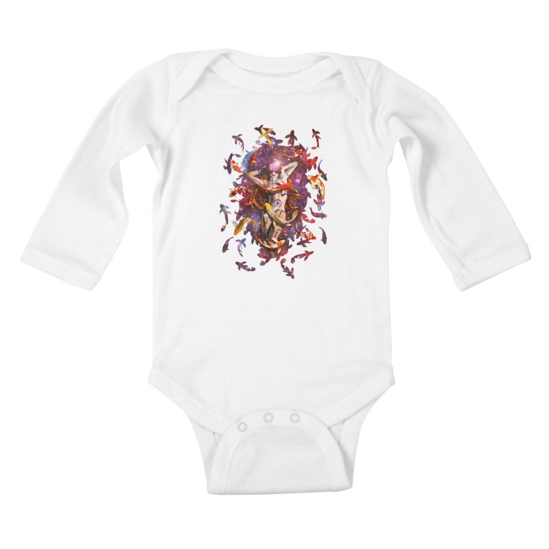 Venus 2.0 Kids Baby Longsleeve Bodysuit by Den of the Wolf