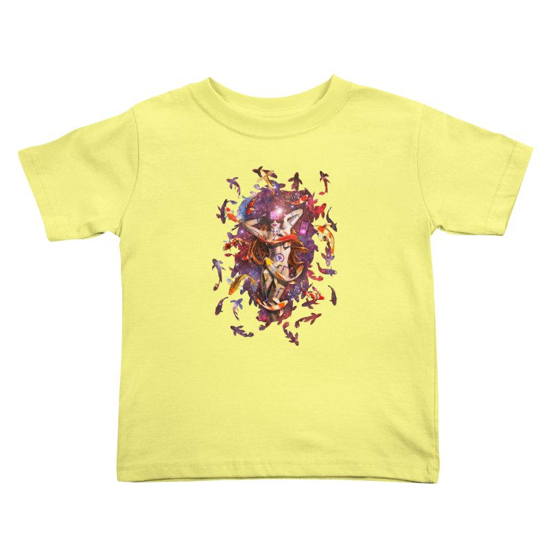 Venus 2.0 Kids Toddler T-Shirt by Den of the Wolf