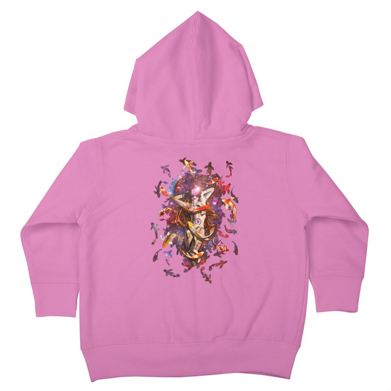 Venus 2.0 Kids Toddler Zip-Up Hoody by Den of the Wolf