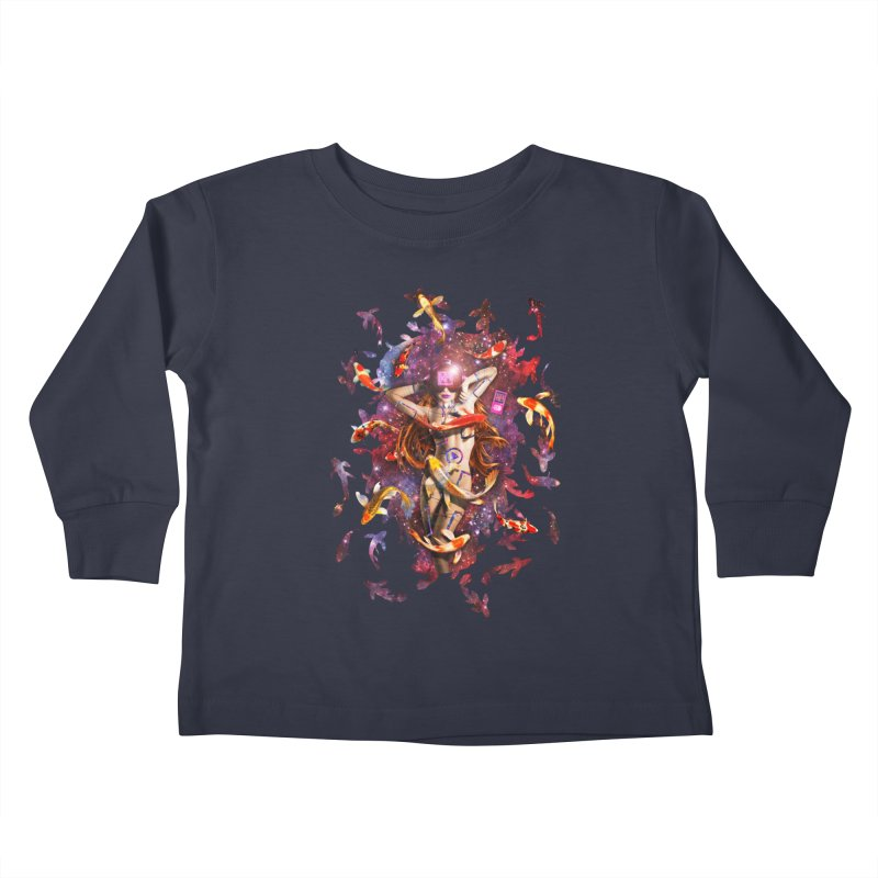 Venus 2.0 Kids Toddler Longsleeve T-Shirt by Den of the Wolf