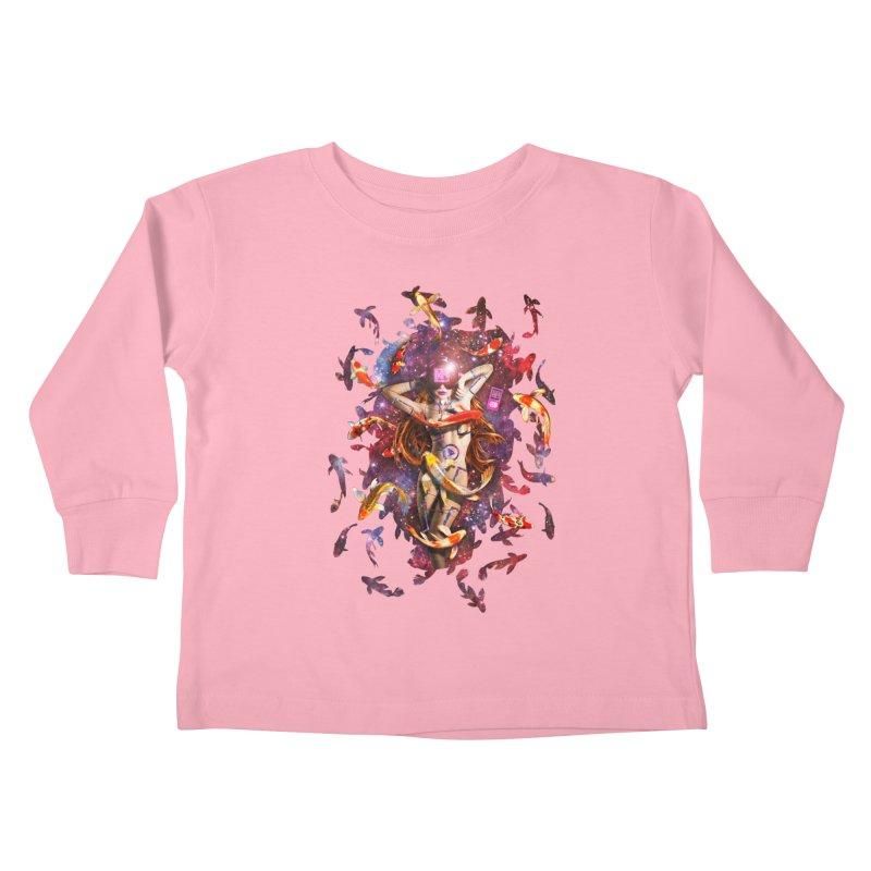 Venus 2.0 Kids Toddler Longsleeve T-Shirt by NicholasWolf's Artist Shop