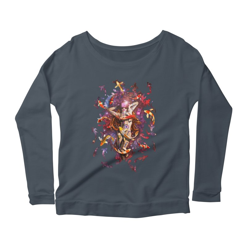 Venus 2.0 Women's Scoop Neck Longsleeve T-Shirt by Den of the Wolf