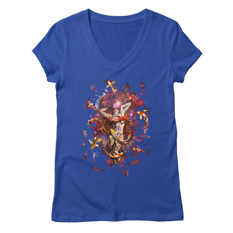 Venus 2.0 Women's V-Neck by Den of the Wolf