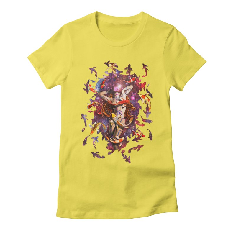 Venus 2.0 Women's Fitted T-Shirt by NicholasWolf's Artist Shop