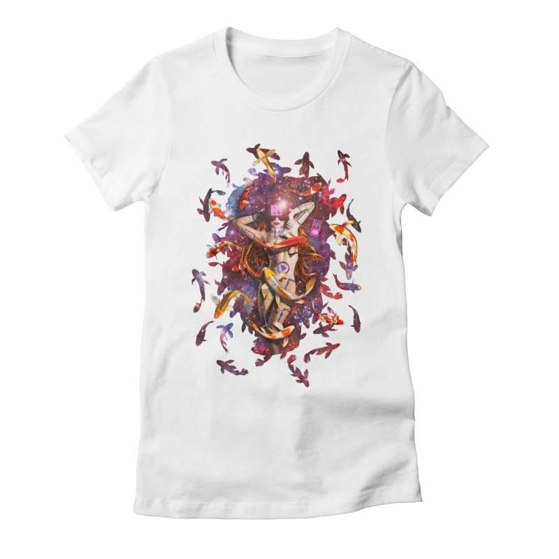 Venus 2.0 Women's Fitted T-Shirt by Den of the Wolf