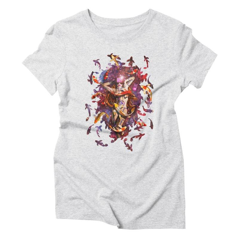 Venus 2.0 Women's Triblend T-shirt by Den of the Wolf