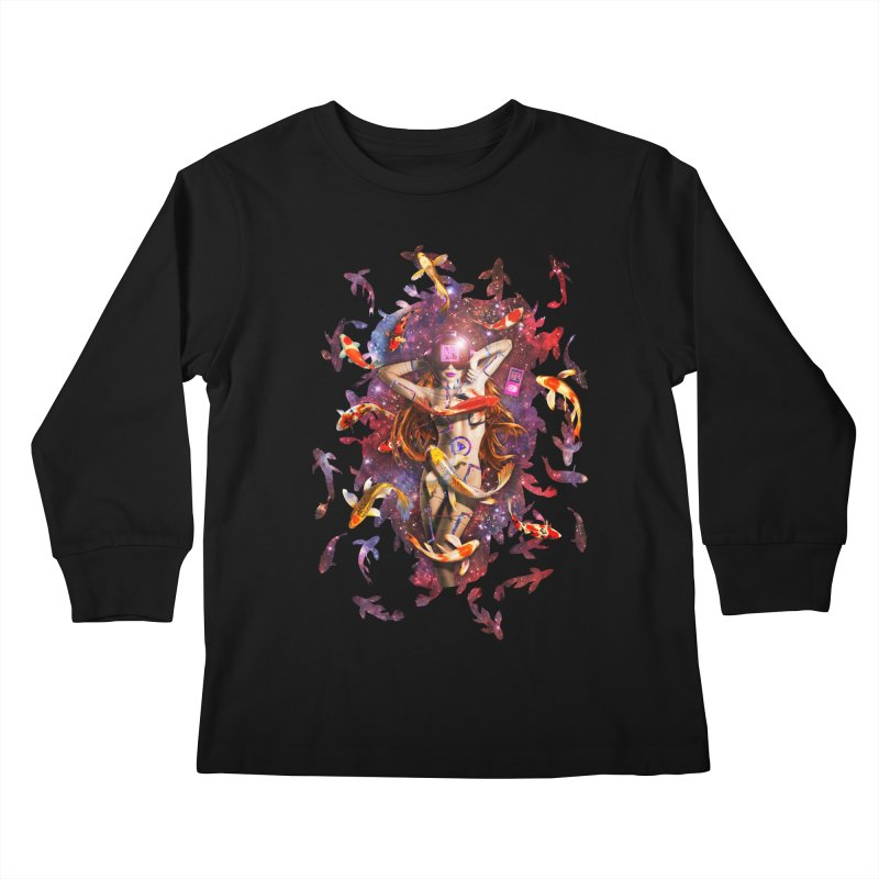 Venus 2.0 Kids Longsleeve T-Shirt by Den of the Wolf