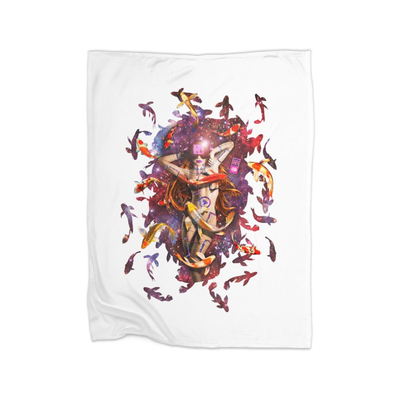 Venus 2.0 Home Fleece Blanket Blanket by Den of the Wolf
