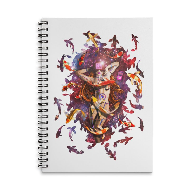 Venus 2.0 Accessories Lined Spiral Notebook by Den of the Wolf