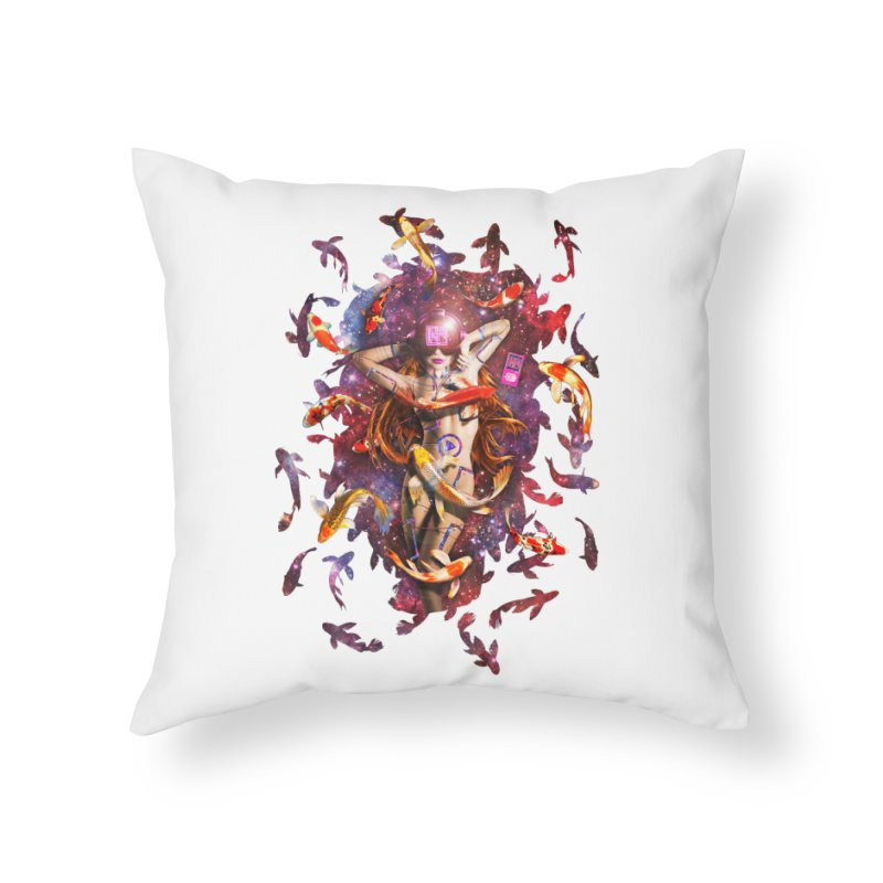 Venus 2.0 Home Throw Pillow by Den of the Wolf