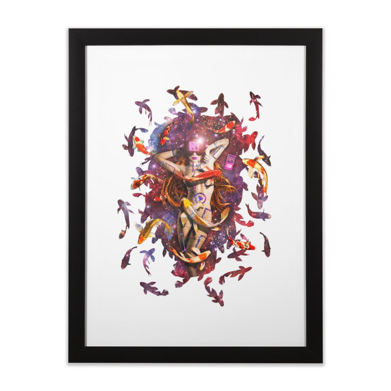 Venus 2.0 Home Framed Fine Art Print by Den of the Wolf