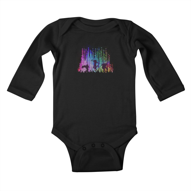 Up to 11 Kids Baby Longsleeve Bodysuit by Den of the Wolf