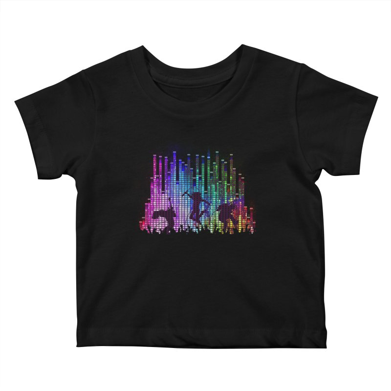 Up to 11 Kids Baby T-Shirt by Den of the Wolf