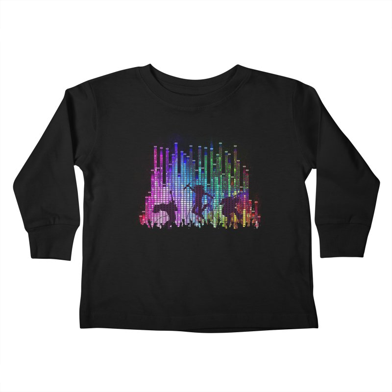 Up to 11 Kids Toddler Longsleeve T-Shirt by Den of the Wolf