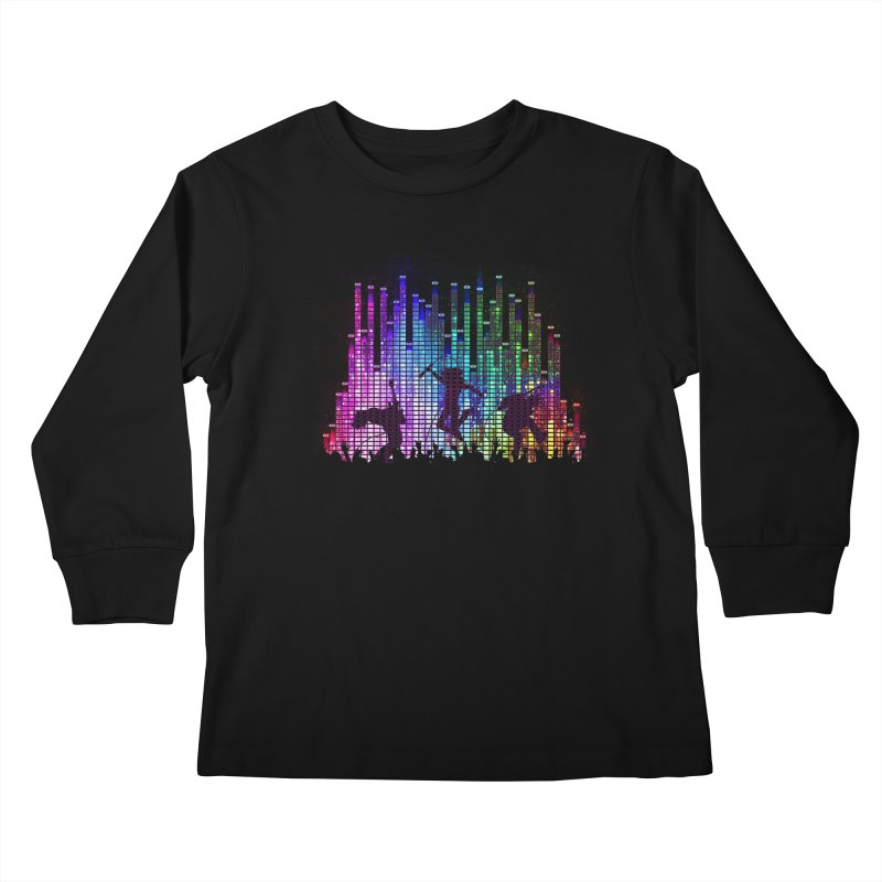 Up to 11 Kids Longsleeve T-Shirt by Den of the Wolf