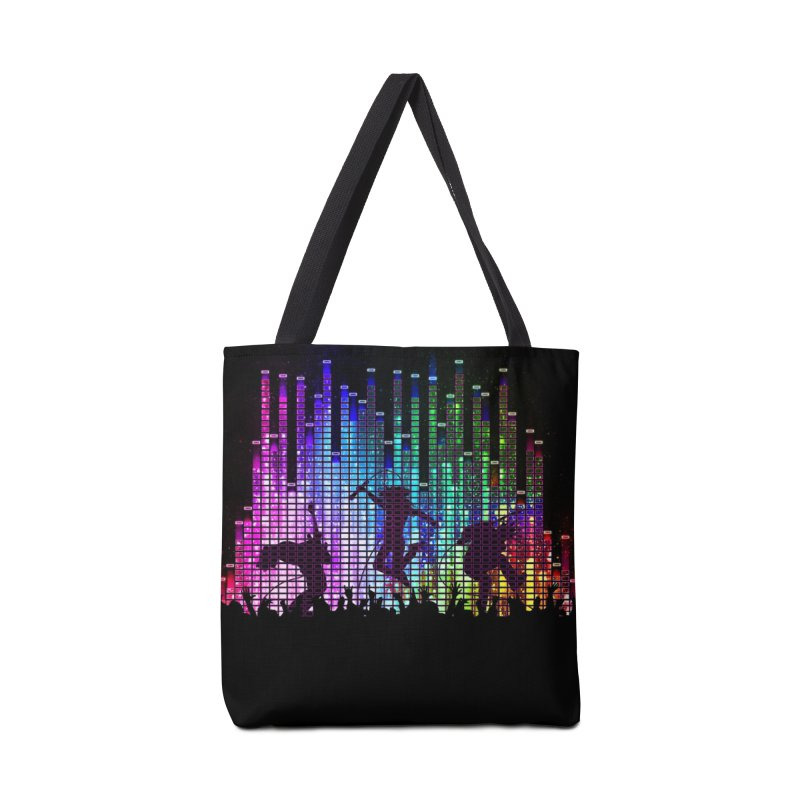 Up to 11 Accessories Tote Bag Bag by Den of the Wolf