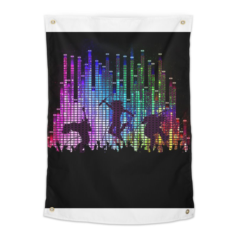 Up to 11 Home Tapestry by Den of the Wolf