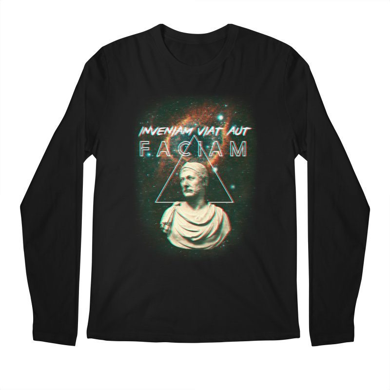 INVENIAM VIAM AUT FACIAM Men's Longsleeve T-Shirt by Den of the Wolf