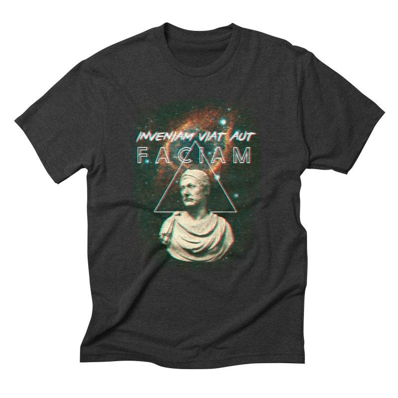 INVENIAM VIAM AUT FACIAM Men's Triblend T-Shirt by Den of the Wolf