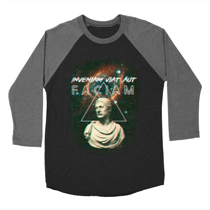 INVENIAM VIAM AUT FACIAM Men's Baseball Triblend Longsleeve T-Shirt by Den of the Wolf
